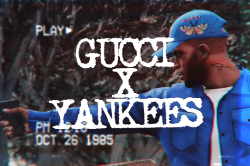 Gucci X Yankees Cap