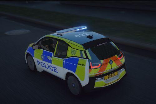 Guernsey Police BMW I3