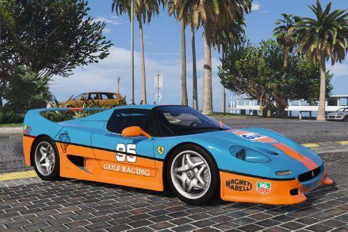 Gulf Livery for 1995 Ferrari F50