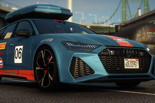 Gulf Livery for Audi RS6 2020