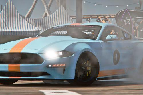 Gulf Paintjob for tk0wnz 2019 Ford Mustang GT