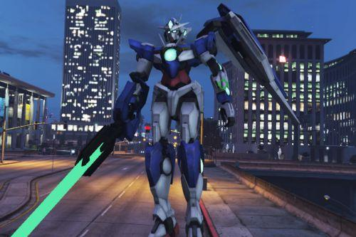 Gundam 00 Qan[T]  [Emissive Big Add-On Ped]