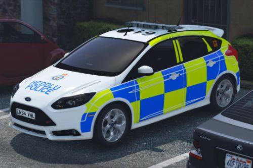 Gwent Police Ford Focus ST