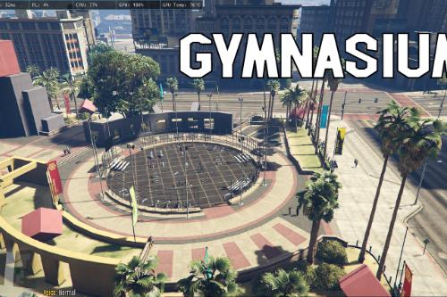 Gymnasium in Legion Square [YMAP]