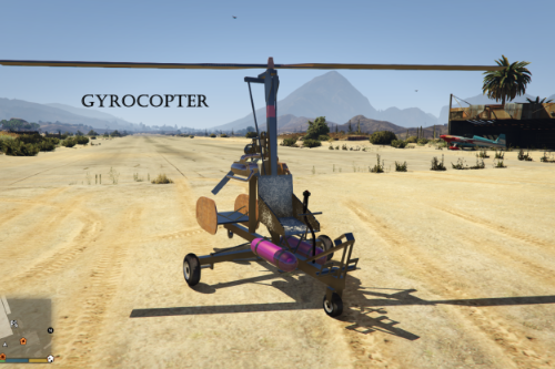 Gyrocopter [Add-On]
