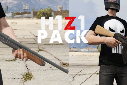 H1Z1(Just Survive) Weapons Pack