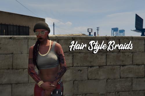 Hair Style Female Braids v2