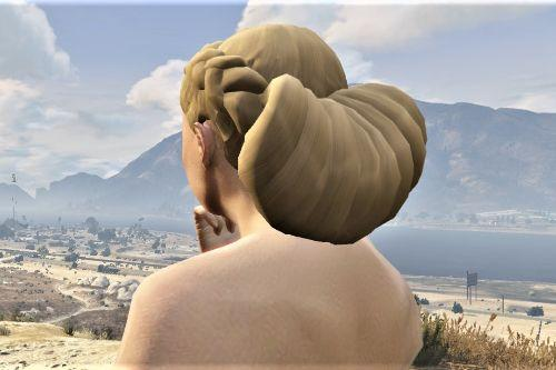 Hairstyle for MP Female - braid with bun