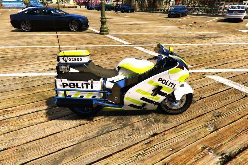 Hakuchou Norwegian Police Bike