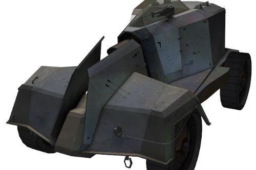 Half Life 2 Combine APC Police Siren replacement (WIP)