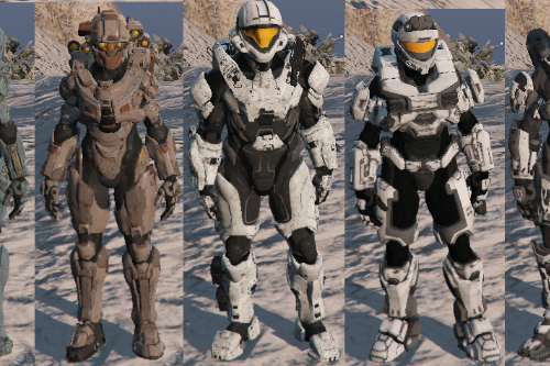 Halo pack [Add-On Ped]