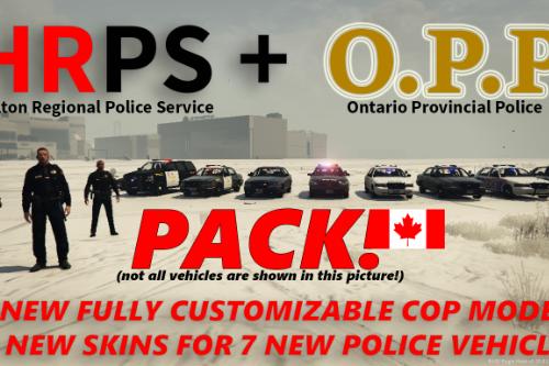 Halton Regional Police + O.P.P. Pack (Ontario, Canada)