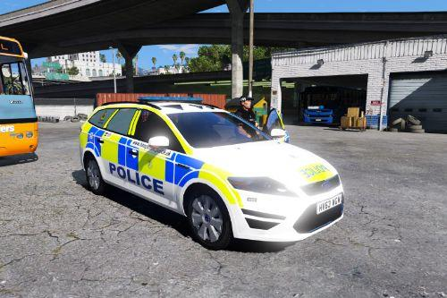 Hampshire Constabulary 2013 Ford Mondeo JOU Dog Van