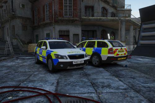 Hampshire Constabulary 2013 Skoda Scout (Response and Targeted Patrol Team)