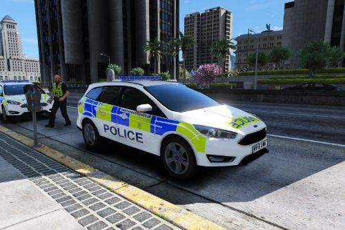Hampshire Constabulary 2016 Ford Focus Estate