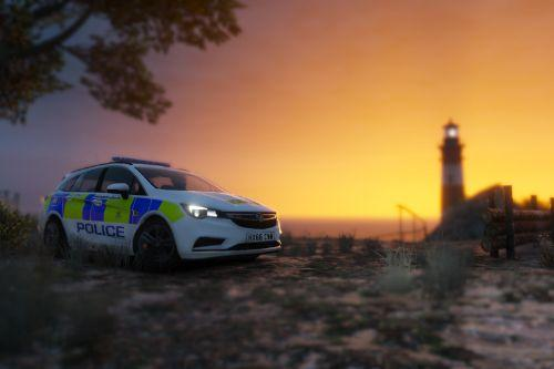 Hampshire Constabulary Astra mk7 skin
