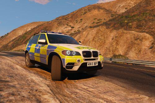Hampshire Constabulary JOU BMW X5 E70