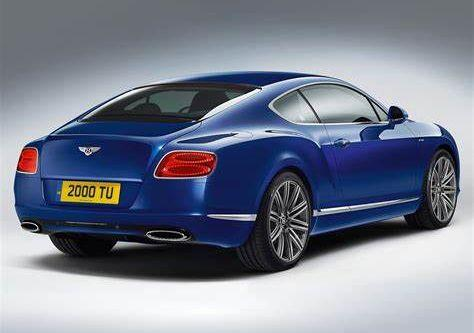 handling and lowered suspension for Bentley Continental GT Speed 2013