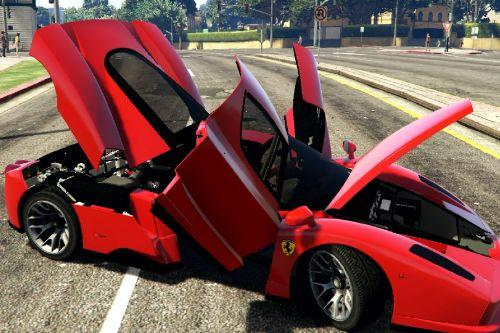 Handling Ferrari Enzo + Ferrari Sound