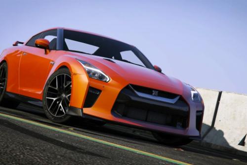 Handling for 2017 Nissan GTR