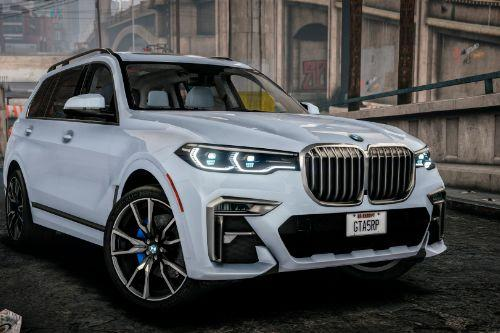 Handling for BMW X7 (by AlexHIT) Realistic car speed