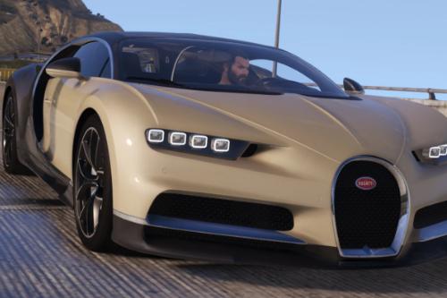 Handling for Bugatti Chiron '17
