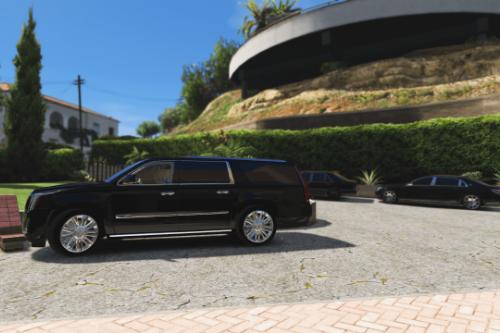 Handling for DANZ's Cadillac Escalade Esv 2015