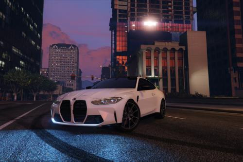 Handling for MrEverest 2021 BMW M4 Competition