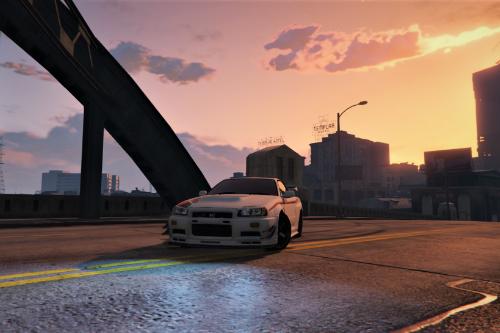 Handling For MrEverest Nissan Skyline GT-R (BNR34)