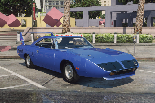 Handling for Plymouth Superbird
