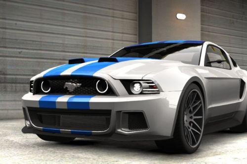 Handling for Ford Mustang GT500 Shelby