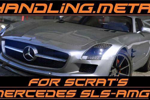 Handling replacement for SCRAT's Mercedes-Benz SLS AMG