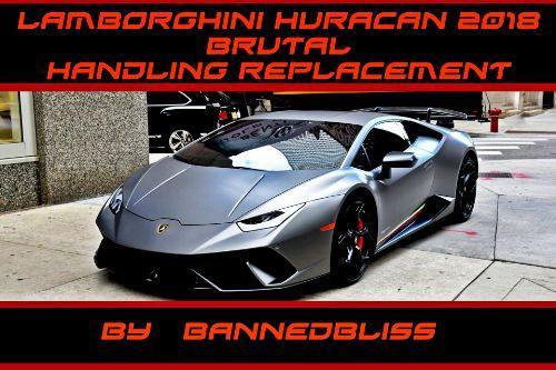 Handling for Stunt Motorsports' 2018 Liberty Walk Lamborghini Huracan Performante Spyder