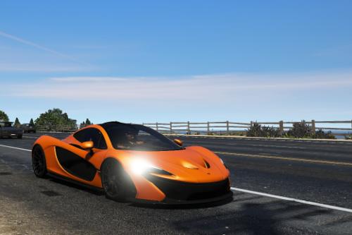 Handling to McLaren P1