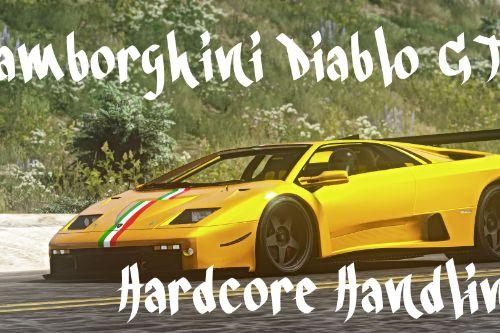 Hardcore Handling for Lamborghini Diablo GTR