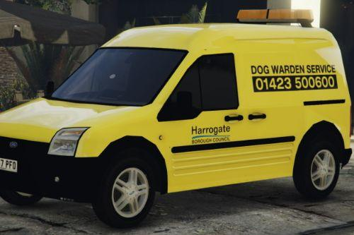 Harrogate Borough Council - Dog Warden livery for the Ford Transit Connect