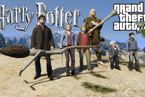Harry Potter Character Package [Add-On Ped]