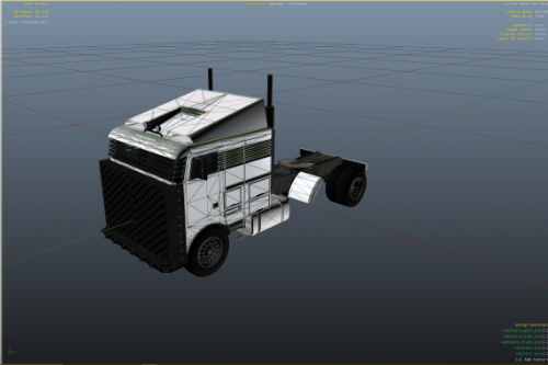 Hauler2 and Large Trailer UV Map Template [UNLOCKED]