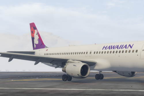 Hawaiian Airline Livery for A320