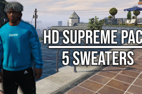 HD Supreme Sweater Pack (5 Clothes)