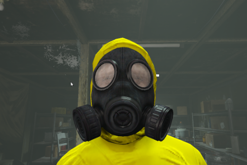 Heist Gas Mask with 2 Filters [MP Freemode]