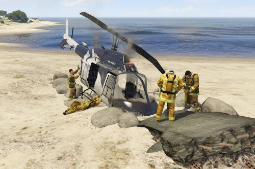 Helicopter Crash North Chumash [Map Editor]