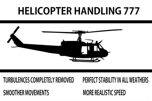 Helicopter Handling 777