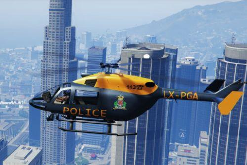 Helicopter Police Grand Ducale - Luxembourg