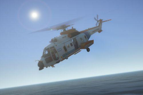 Helicóptero de Rescate Prefectura Naval Argentina