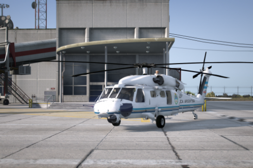 Helicóptero presidencial de Argentina