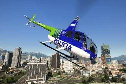 Helicóptero Robinson 44 Policía Bonaerense (Argentina)