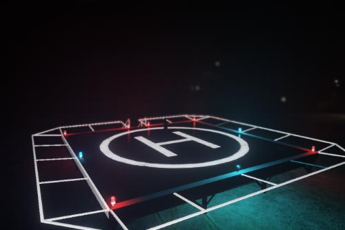Helipad v2 Full lighting [ OIV Installation ]