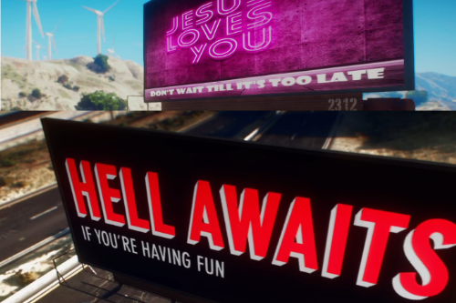 Hell Billboard replacement
