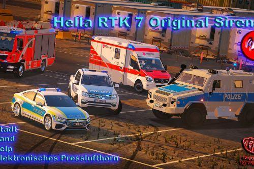 Hella RTK7 German Siren Sounds